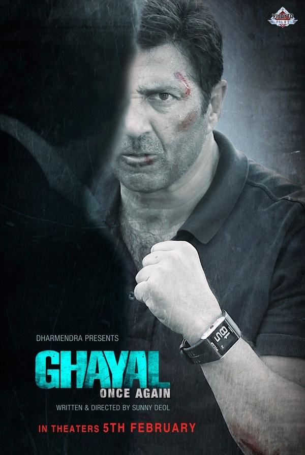 Ghayal Once Again first look,Sunny Deol's Ghayal Once Again first look poster,Ghayal Once Again first look poster,Ghayal Once Again poster