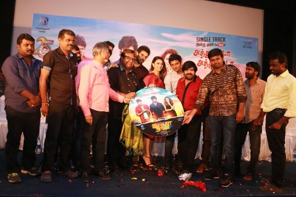 Pokkiri Raja,Pokkiri Raja Single Track Launch,Pokkiri Raja audio launch,Jeeva,Sibiraj,Hansika Motwani,T Rajender,Pokkiri Raja Single Track Launch pics,Pokkiri Raja Single Track Launch images,Pokkiri Raja Single Track Launch photos,Pokkiri Raja Single Trac