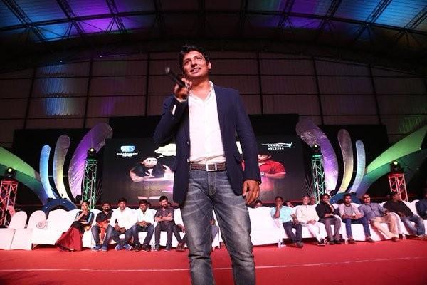 Pokkiri Raja Audio Launch,Pokkiri Raja,Jiiva,Sibiraj,Nandita Swetha,Vimal,Pokkiri Raja Audio Launch pics,Pokkiri Raja Audio Launch images,Pokkiri Raja Audio Launch stills,Pokkiri Raja Audio Launch pictures,Pokkiri Raja Audio Launch photos,Sathyaraj,D Imma