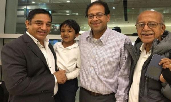 Kamal Haasan,actor Kamal Haasan,Kamal Haasan visits Google's office in Boston,Kamal Haasan visits Google's office,Kamal Haasan visits Google office,Google office