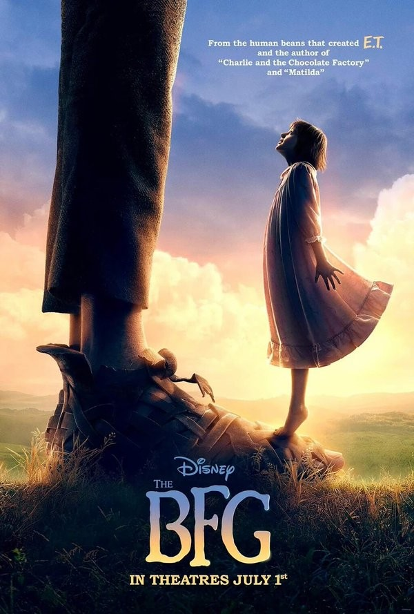 The BFG,The BFG first look poster,The BFG first look,The BFG poster,Hollywood movie The BFG,Mark Rylance,Ruby Barnhill,Penelope Wilton,Rebecca Hall,Bill Hader,Jemaine Clement,The BFG movie stills,The BFG movie pics,The BFG movie images,The BFG movie photo