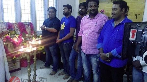 Sundeep Kishan,Maayavan,Maayavan movie launch,Maayavan movie pooja,Sundeep Kishan dons khaki in C.V. Kumar's 'Mayavan',Sundeep Kishan in C.V. Kumar's Mayavan,C.V. Kumar's Mayavan,C.V. Kumar,Tamil-Telugu sci-fi thriller,Tamil-Telug