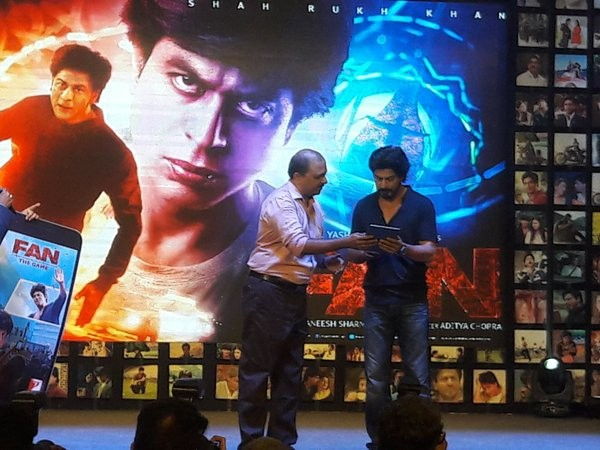 Shah Rukh Khan,FAN Trailer Launch,FAN Trailer,Shah Rukh Khan's FAN Trailer Launch,SRK,King Khan