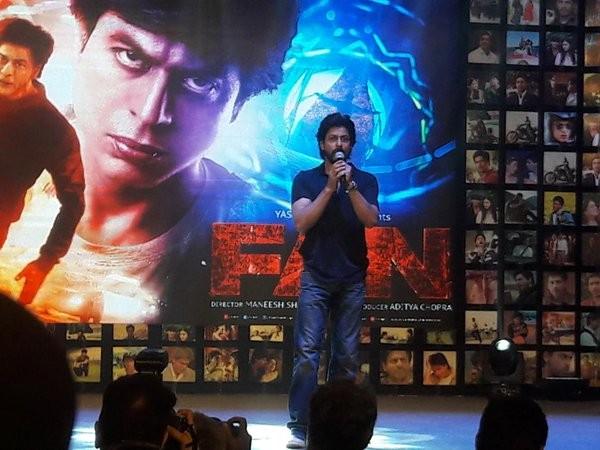 Shah Rukh Khan,FAN Trailer Launch,FAN Trailer,Shah Rukh Khan's FAN Trailer Launch,SRK,King Khan