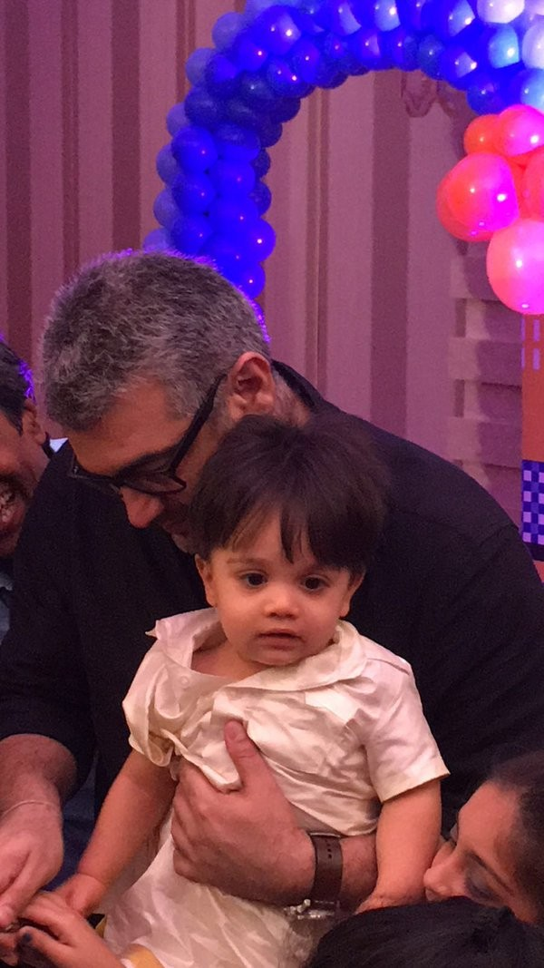 Ajith,Ajith son,ajith son aadvik,Ajith son Aadvik Birthday,Aadvik Birthday celebrations,Aadvik Birthday celebrations pics,Aadvik Birthday celebrations images,Aadvik Birthday celebrations stills,Aadvik Birthday celebrations pictures,Aadvik Birthday celebra
