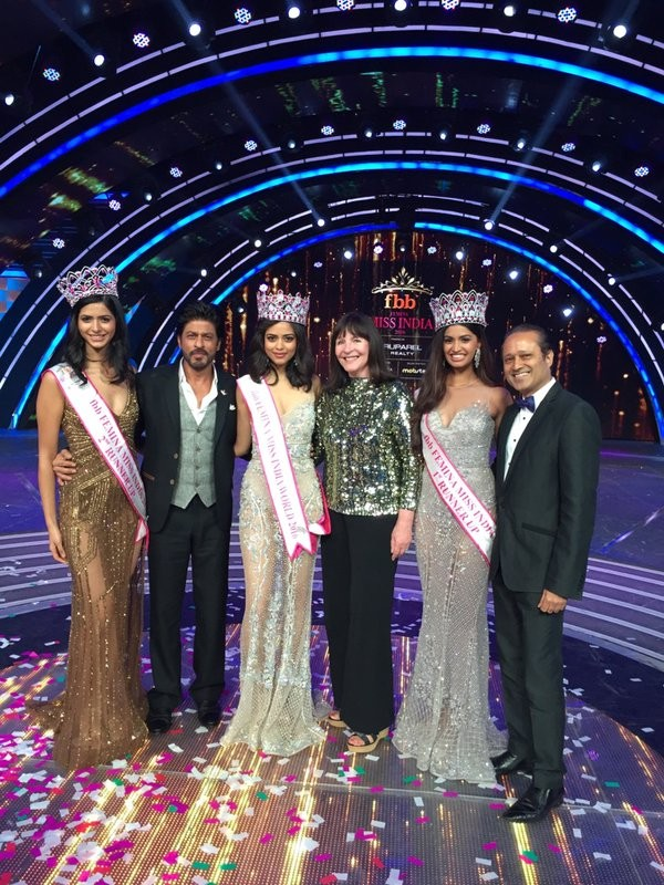 Priyadarshini Chatterjee,Delhi girl Priyadarshini Chatterjee,Miss India World 2016,Miss India,Priyadarshini Chatterjee crowned Miss India World 2016,Priyadarshini Chatterjee Miss India World 2016,Priyadarshini Chatterjee Miss India,Shah Rukh Khan