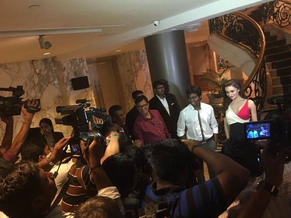 Theri Press Meet,Theri,Amy Jackson,Baby Nainika,Atlee,Meena,Atlee Kumar,Vijay,Theri Press Meet pics,Theri Press Meet images,Theri Press Meet photos,Theri Press Meet stills,Theri Press Meet pictures
