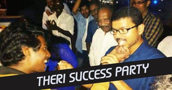 Vijay's Theri Success Party,Theri Success Party,Theri Success,Theri,Vijay,Meena,Atlee,Theri Success Party pics,Theri Success Party images,Theri Success Party photos,Theri Success Party stills,Theri Success Party pictures