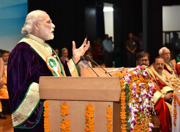 Narendra Modi,Prime Minister Narendra Modi,India's wealth to lead the world,Modi in Jammu,Shri Mata Vaishno Devi University,Modi address,PM Narendra Modi address,Narendra Modi address