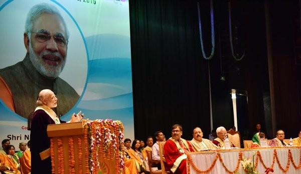 Narendra Modi,Prime Minister Narendra Modi,India's wealth to lead the world,Modi in Jammu,Shri Mata Vaishno Devi University,Modi address,PM Narendra Modi address,Narendra Modi address