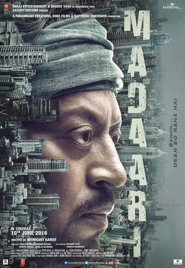 Irrfan Khan,Madaari,Madaari first look,Madaari poster,Madaari first look poster,Irrfan Khan in Madaari,bollywood movie Madaari,Madaari pics,Madaari images,Madaari stills,Madaari pictures