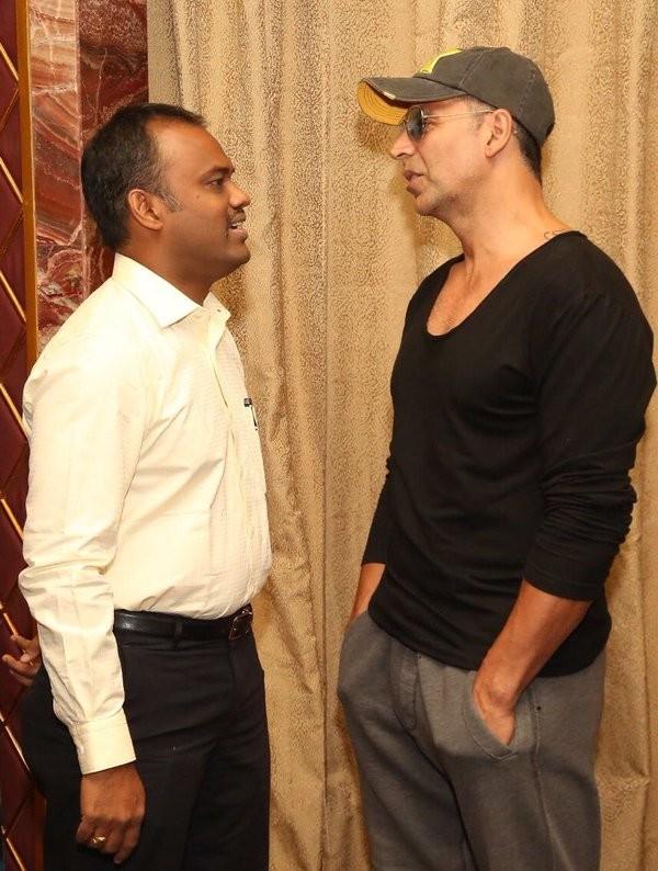 Akshay Kumar,Akshay Kumar launches GV Prakash's Enakku Innoru Per Irukku Audio,Akshay Kumar launches Enakku Innoru Per Irukku Audio,Enakku Innoru Per Irukku Audio launch,Enakku Innoru Per Irukku,GV Prakash,Enakku Innoru Per Irukku Audio launch pics,E