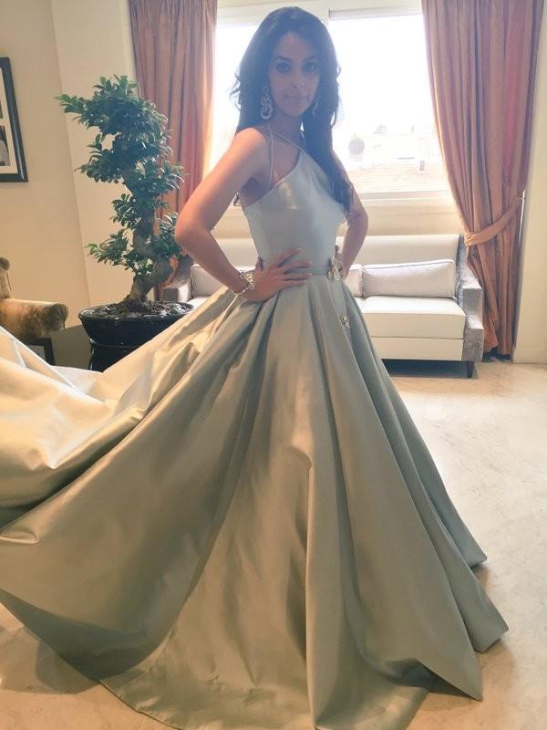 Bollywood actress Mallika Sherawat at Cannes Film Festival 2016.