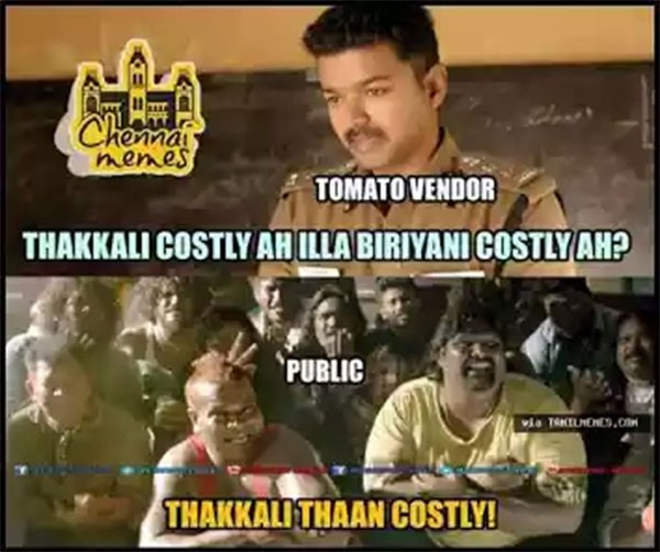 Funniest Viral Videos: Funny Memes On Tomato Price Goes Viral In Tamil Nadu