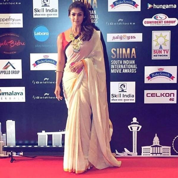 Nayanthara At Siima Awards 2016 Photos Images Gallery