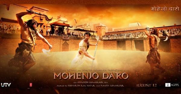 Hrithik Roshan Pooja Hegde S Mohenjo Daro Movie Poster