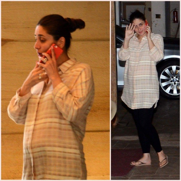 Kareena Kapoor Khan Flaunts Her Baby Bump Photos Images