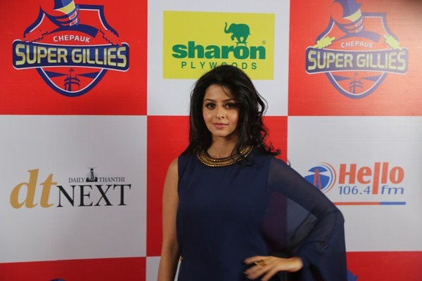 Chepauk Super Gillies,Chepauk Super Gillies team launch,Samantha,Dhansika,Hansika Motwani,Raai Laxmi,Vedhika,Meena,Aishwarya,Khushbu Sundar,Bhagyaraj,Chepauk Super Gillies team launch pics,Chepauk Super Gillies team launch images,Chepauk Super Gillies tea