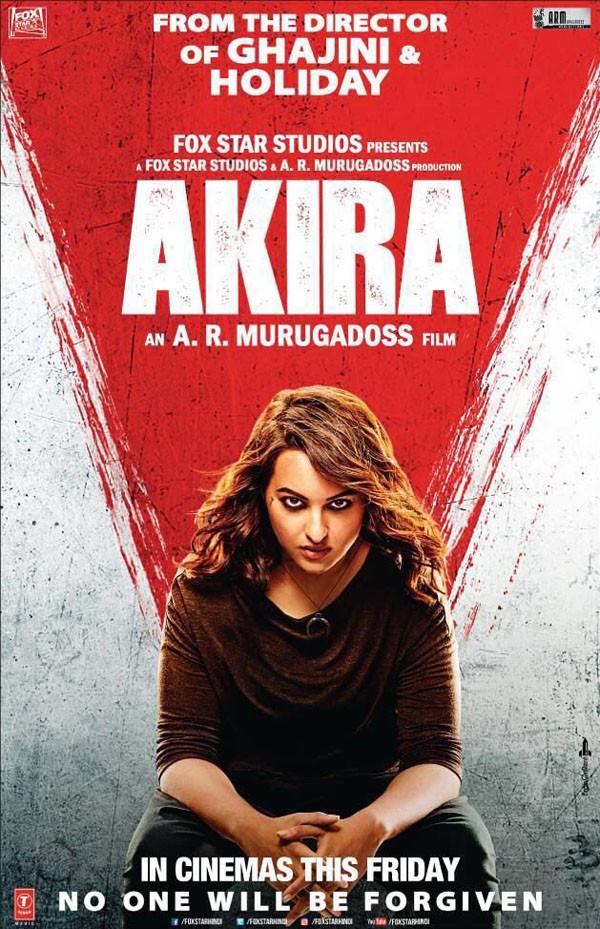 Sonakshi Sinha,Akira Teaser poster,Akira Teaser,Akira poster,Sonakshi Sinha as Akira,bollywood movie Akira,A.R. Murugadoss,Akira movie stills,Akira movie pics,Akira movie images,Akira movie photos,Akira movie pictures
