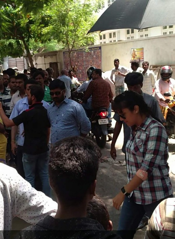 Jyothika At Director Bramma New Movie Sets - Photos,Images,Gallery - 49956-9923