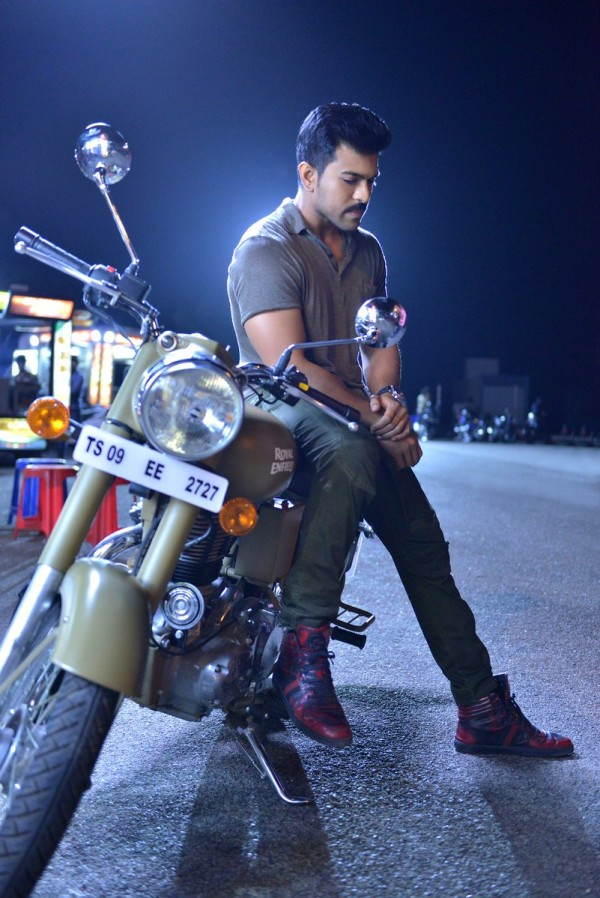 Ram Charan S Stylish Look In Dhruva Movie Photos Images