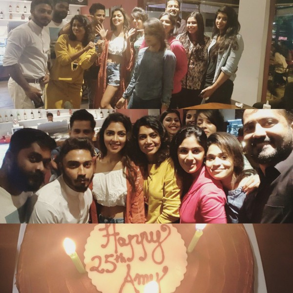 Amala Paul 25th Birthday Celebration