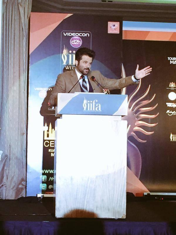 Anil Kapoor Speech at IIFA 2015