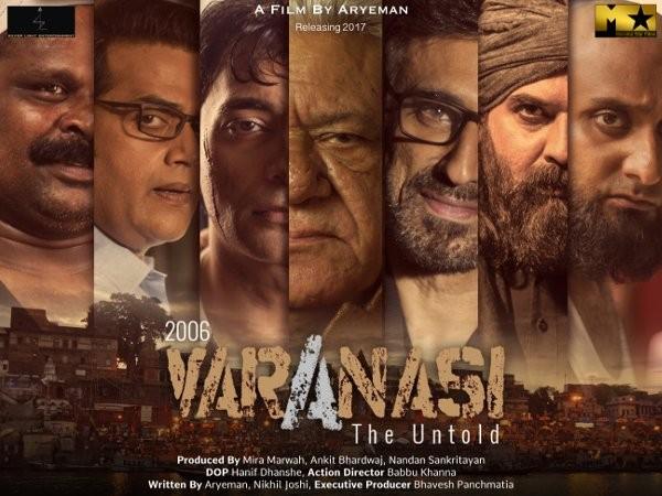 Om Puri,Rahul Dev,Ravi Kishan,Mukul Dev,Raima Sen,2006 Varanasi - The Untold first look,2006 Varanasi - The Untold,2006 Varanasi - The Untold first look poster,2006 Varanasi - The Untold poster
