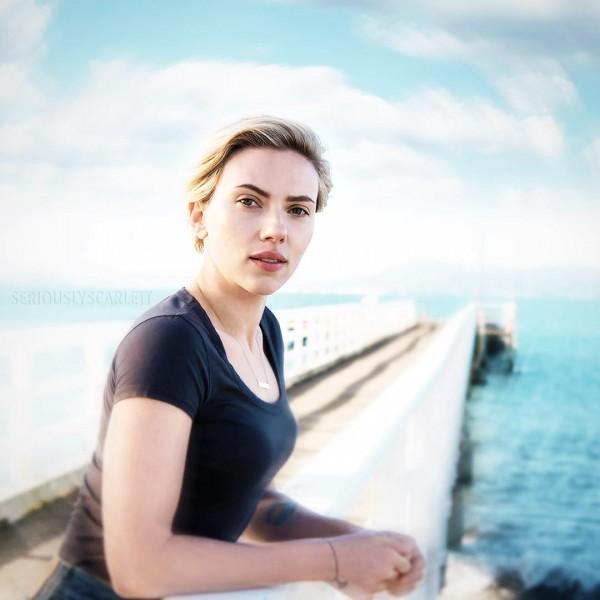 Scarlett Johansson's latest Instagram photo - Photos ...
