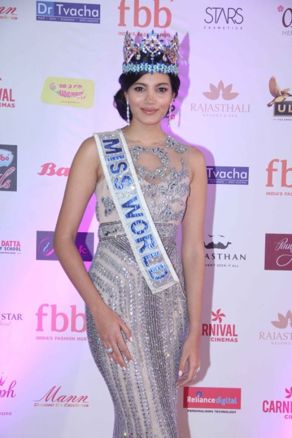 Haryana Girl Manushi Chhillar Is Femina Miss India World