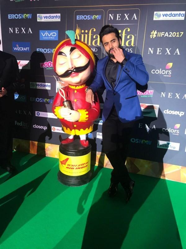 Jackky Bhagnani,actor Jackky Bhagnani,Jackky Bhagnani at IIFA 2017,Jackky Bhagnani at IIFA awards 2017,IIFA awards 2017,IIFA awards