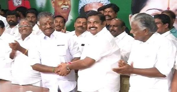 AIADMK,AIADMK faction,Jayalalithaa,K Palaniswami,O Panneerselvam,OPS,OPS and EPS,OPS Deputy CM,Deputy CM
