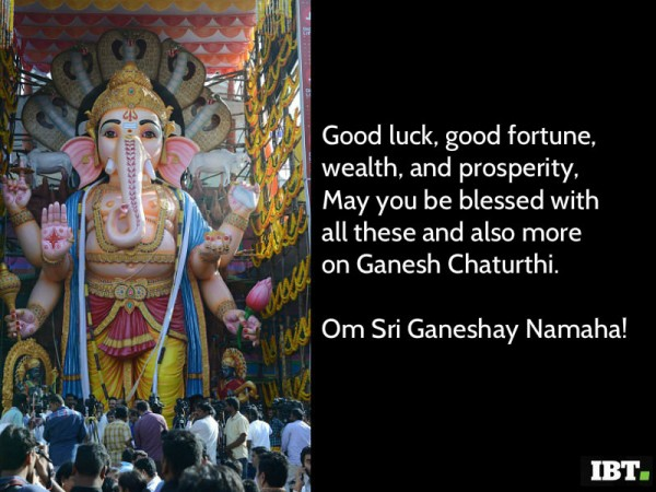Ganesha blessings quotes