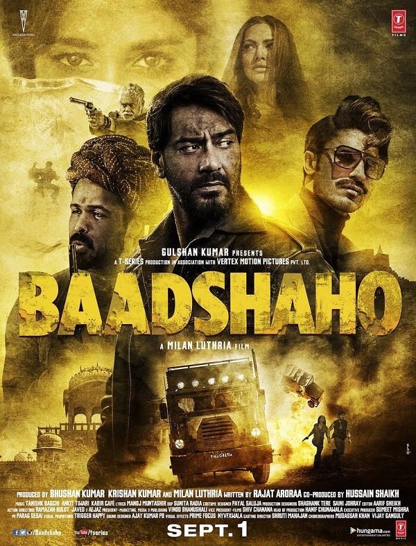 Ajay Devgan,Emraan Hashmi,Baadshaho first look poster,Baadshaho,Baadshaho first look,Baadshaho poster,Baadshaho movie poster,bollywood movie Baadshaho,Baadshaho pics,Baadshaho images,Baadshaho stills