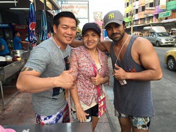 Ram charan Jaika Practice In Thailand,My Name Is Raju,Ram charan training in thailand,Ram Charan,actor Ram Charan,Ram Charan Teja,Ram Charan in Thailand