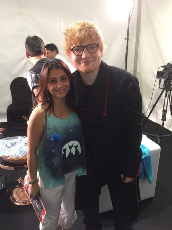 Mystery behind Ed Sheeran,Ed Sheeran,Ed Sheeran blue Kurta,Ed Sheeran Kurta