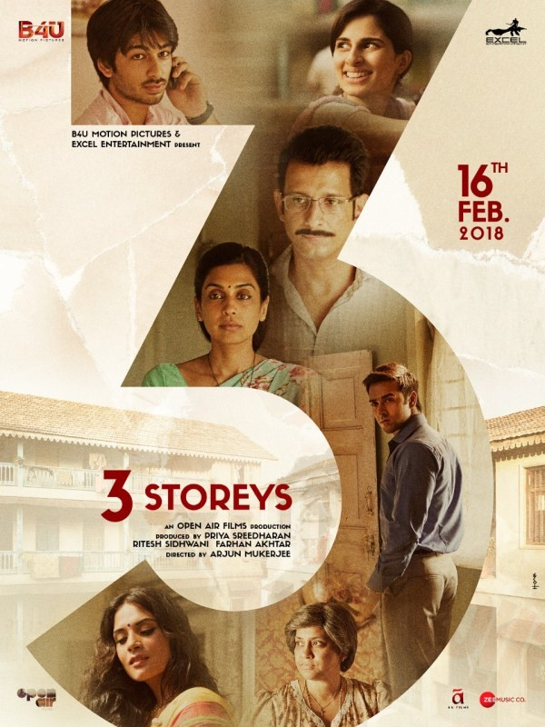 3 Storeys,Sharman Joshi,Excel Entertainment,Sharman Joshi and Excel,Renuka Shahane,Pulkit Samrat,Masumeh,Sharman Joshi,Richa Chadha