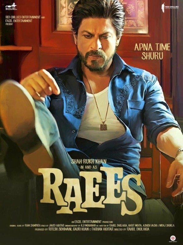 Raees,Fukrey Returns,Inside Edge,Excel Entertainment,SRK