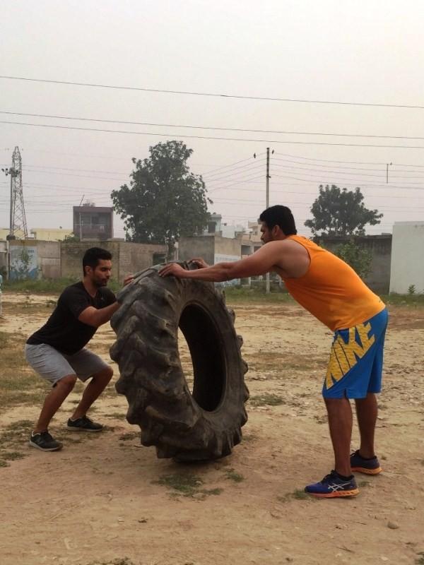 Angad Bedi,Taapsee Pannu,Diljit Dosanjh,Sandeep Singh biopic,Angad Bedi starts training