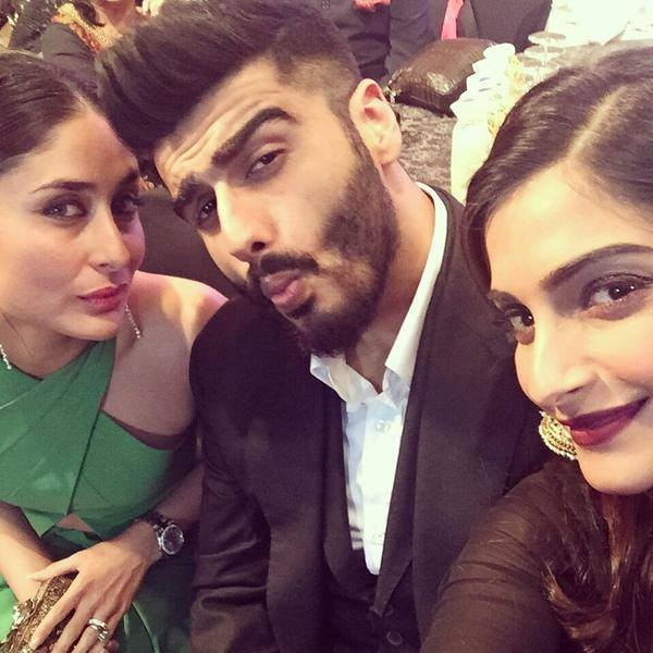 Sonam kapoor,arjun kapoor,spotted,kareena kapoor khan,India TV Yuva Awards 2015,India TV,Yuva Awards 2015,celebs spotted