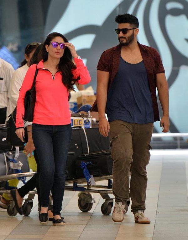 Kareena Kapoor Khan,Arjun Kapoor,Sonam Kapoor,India TV Yuva Awards,Mumbai Airport,celebs spotted,photos
