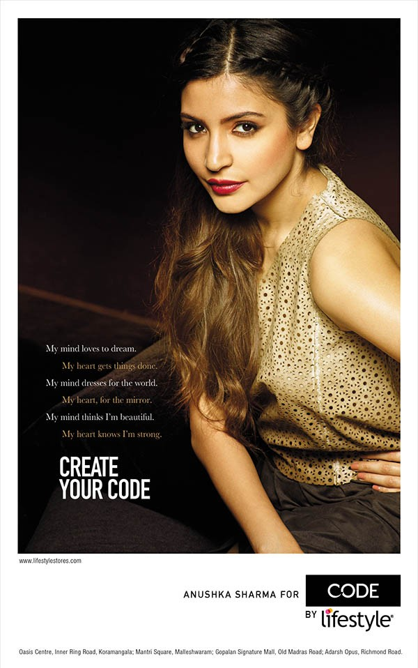 Anushka Sharma PhotoShoot For Brand Code by Lifestyle,Anushka Sharma,actress Anushka Sharma,Anushka Sharma pics,Anushka Sharma images,Brand Code by Lifestyle,actress Anushka Sharma pics,Anushka Sharma latest pics,bollywood actress Anushka Sharma