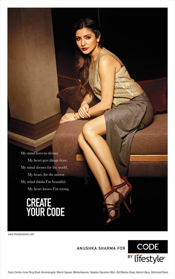 Anushka Sharma PhotoShoot For Brand Code by Lifestyle,Anushka Sharma,actress Anushka Sharma,Anushka Sharma pics,Anushka Sharma images,Brand Code by Lifestyle,actress Anushka Sharma pics,Anushka Sharma latest pics,bollywood actress Anushka Sharma