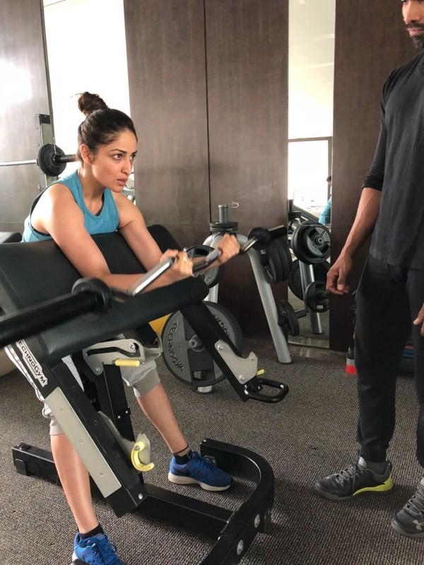 Yami Gautam,actress Yami Gautam,yami gautam workout,yami gautam workout pics,yami gautam workout images,yami gautam workout stills,yami gautam workout pictures,yami gautam workout photos