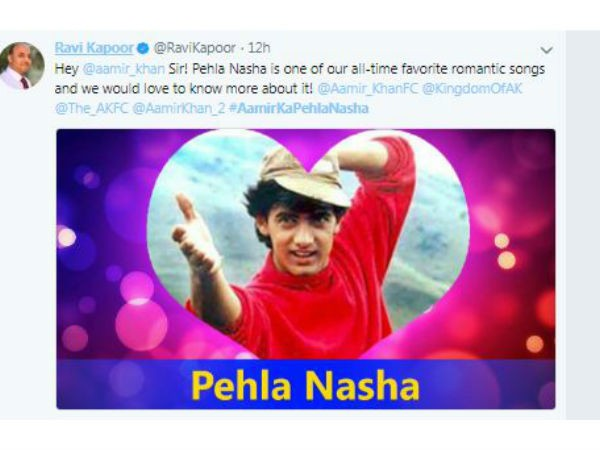 Valentine's Day,Aamir Khan,Pehla Nasha,Valentine's anthem Pehla Nasha