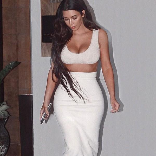 Kim Kardashian shares bikini selfie on Instagram
