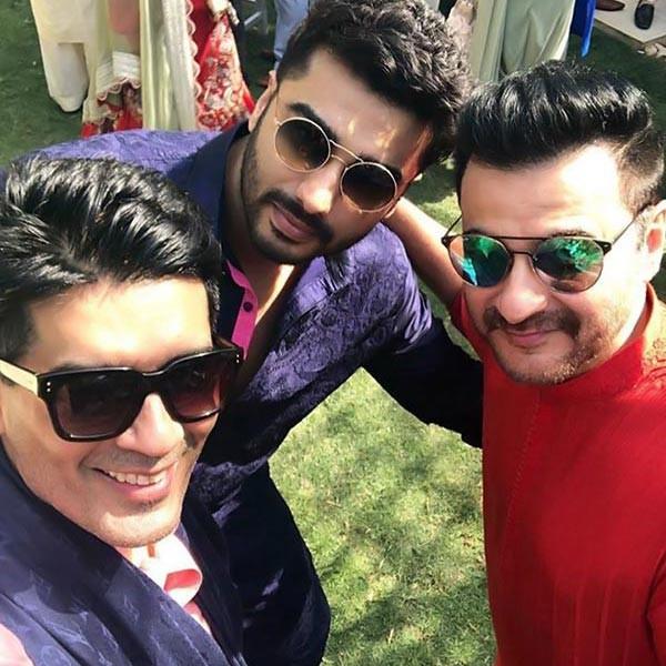 Sridevi,Khushi Kapoor,Manish Malhotra,Arjun Kapoor,Mohit Marwah's Mehendi ceremony,Mohit Marwah,Mohit Marwah wedding,Mohit Marwah marriage