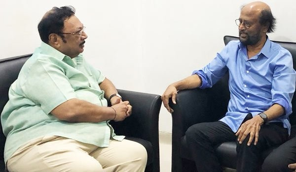 Superstar Rajinikanth,Rajinikanth,Rajinikanth visits Karunanidhi,Karunanidhi,Karunanidhi at Kauvery hospital,Kauvery hospital,DMK chief,karunanidhi health