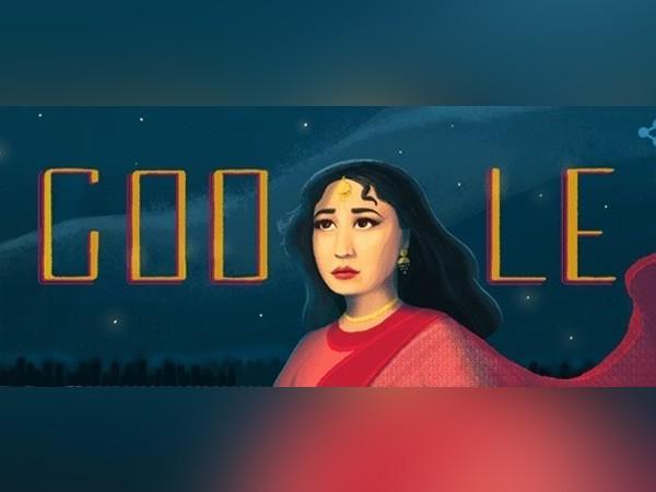 Google Doodle,Meena Kumari,Meena Kumari Google Doodle,The Tragedy Queen,Meena Kumari birthday,Meena Kumari birthday pics,Meena Kumari birthday images