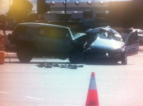 Perth car crash